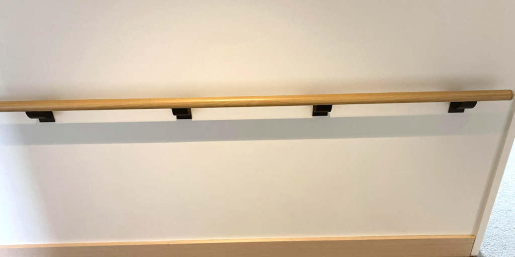 Fussell House wall handrail